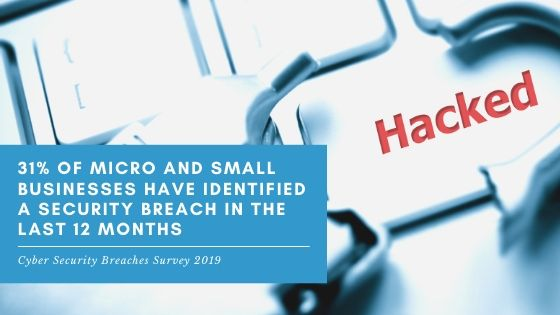 Lucid Systems work with clients in Suffolk and Essex to help them achieve Cyber Essentials Certification. This is important because 31% of SME's have had a security breach in the last 12 months