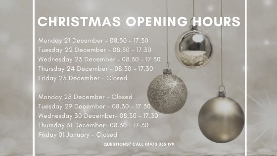 The Lucid Systems christmas opening hours for December 2020. We will be continuing to provide effective IT support for businesses in Ipswich during the festive season
