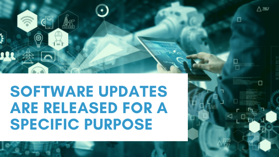 Software updates are designed for specific purposes. Companies such as Lucid Systems can help small businesses prioritise and maintain software updates so that systems run effectively.
