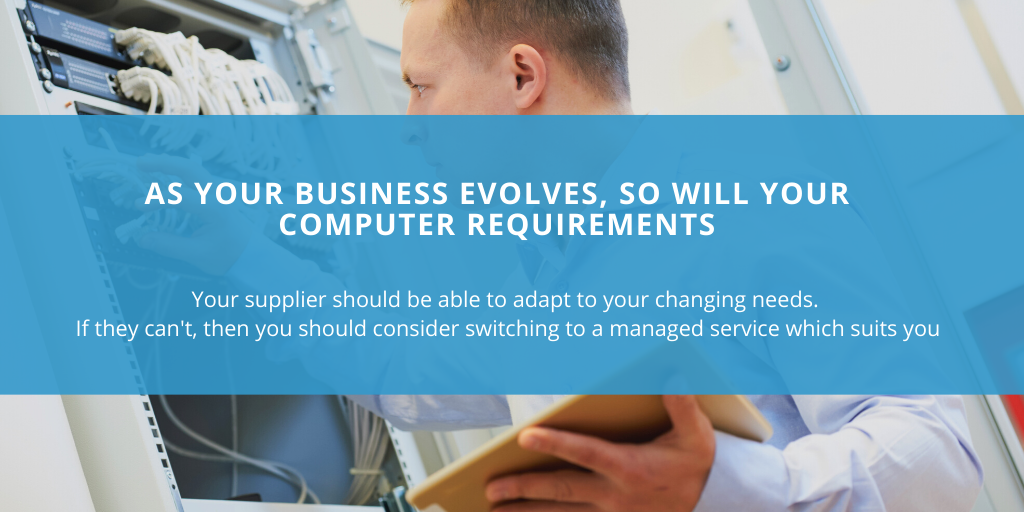 Your business IT system should have the flexibility to grow at the same rate as your business. Contact Lucid Systems to find out how we can support businesses throughout the East of England with their computer needs