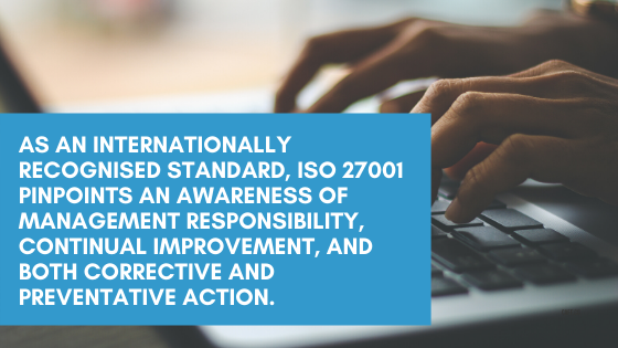 Lucid Systems have ISO 27001 certification which shows a stringent dedication to information security