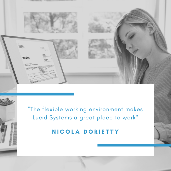 Nicola Dorietty is responsible for the accounts at Lucid Systems