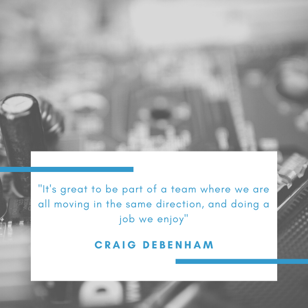 Craig Debenham is the Managing Director of Lucid Systems, specialists in IT support for SMEs throughout Suffolk, Essex and Norfolk